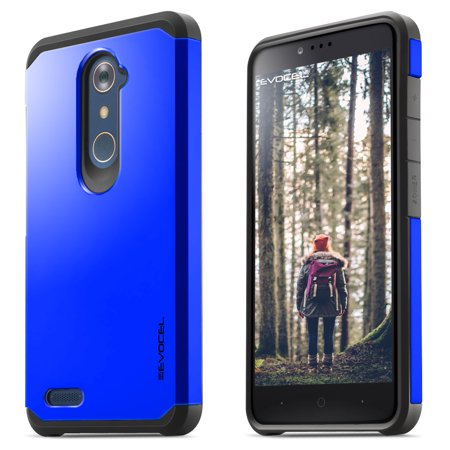 ZTE ZMAX PRO Case, Evocel [Lightweight] [Slim Profile] [Dual Layer] [Smooth Finish] [Raised Lip] Armure Series Phone Case for ZTE ZMAX PRO / ZTE Carry, Brilliant