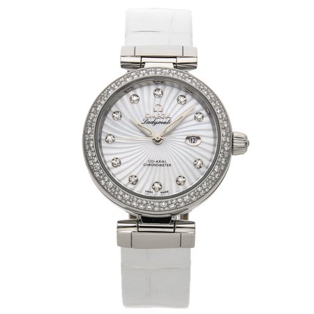 Pre-Owned Omega DeVille Ladymatic 425.38.34.20.55.001 Watch (Majority of Time Remaining on Factory Warranty)
