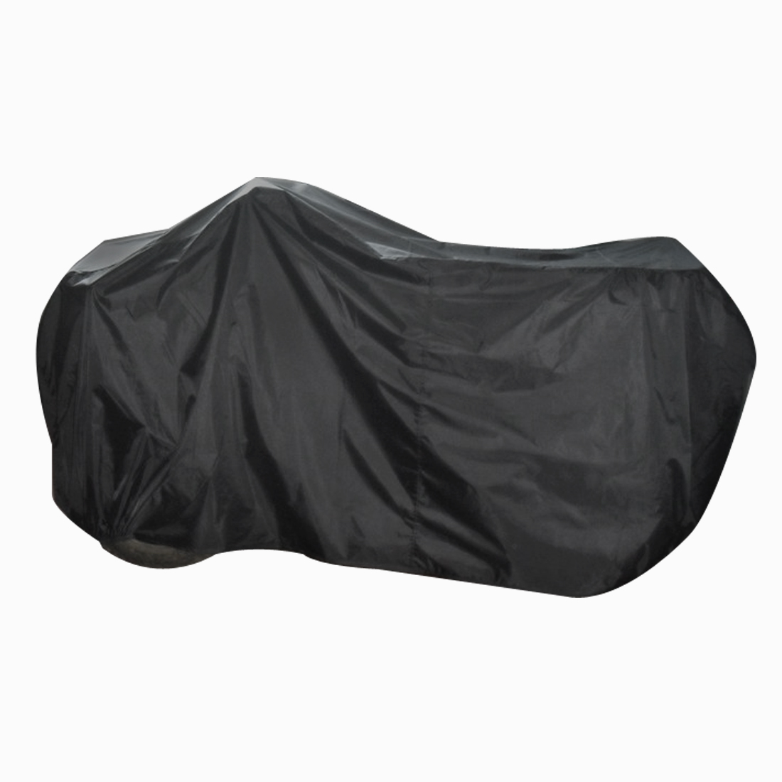 Motorcycle Cover Waterproof Weather Dust Resistant Quad Motor Bike ATV Black