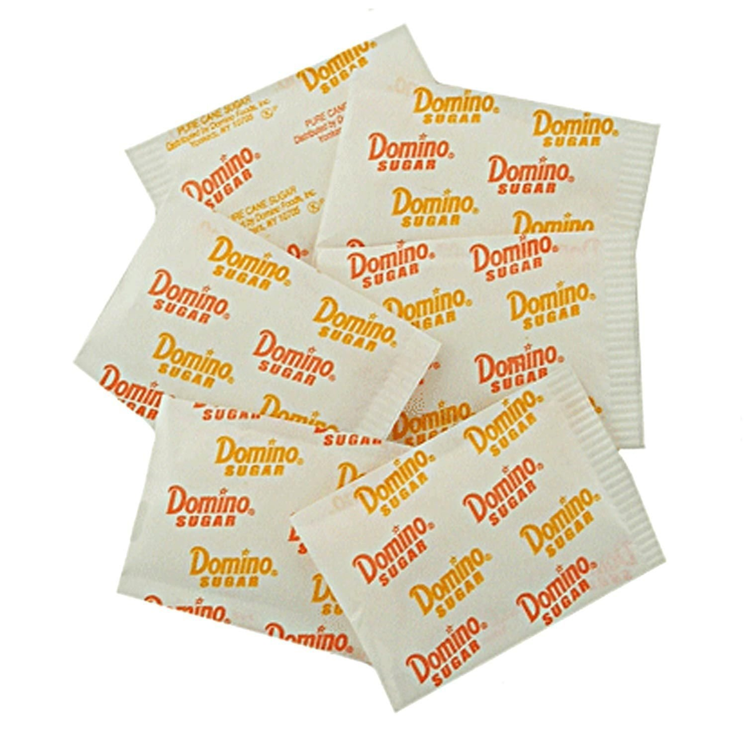 Domino Sugar Packets ~ Sold As 1 Reclosable container 100 ct.