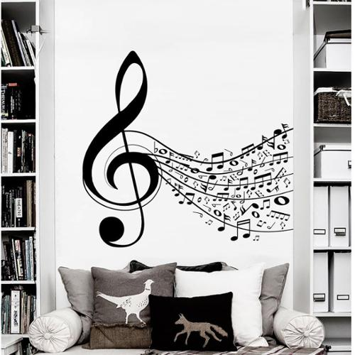 Stickalz llc Sheet Music Wall Art Decal Sticker
