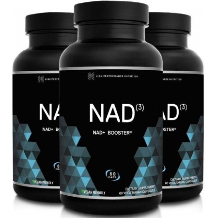 HPN NAD+ Booster – Nicotinamide Riboside Alternative (NAD3) for Men & Women | Anti Aging NRF2 Activator, Superior to NADH – Natural Energy Supplement for Longevity & Cellular Health, 60 Caps,