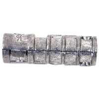 Midwest 04187 Long Lag Shield, 3/8 in, Lead Alloy, Zinc Plated per BX 50