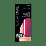 Sensationail Gel Nail Color Polish, Jelly Sherbet, Red Color