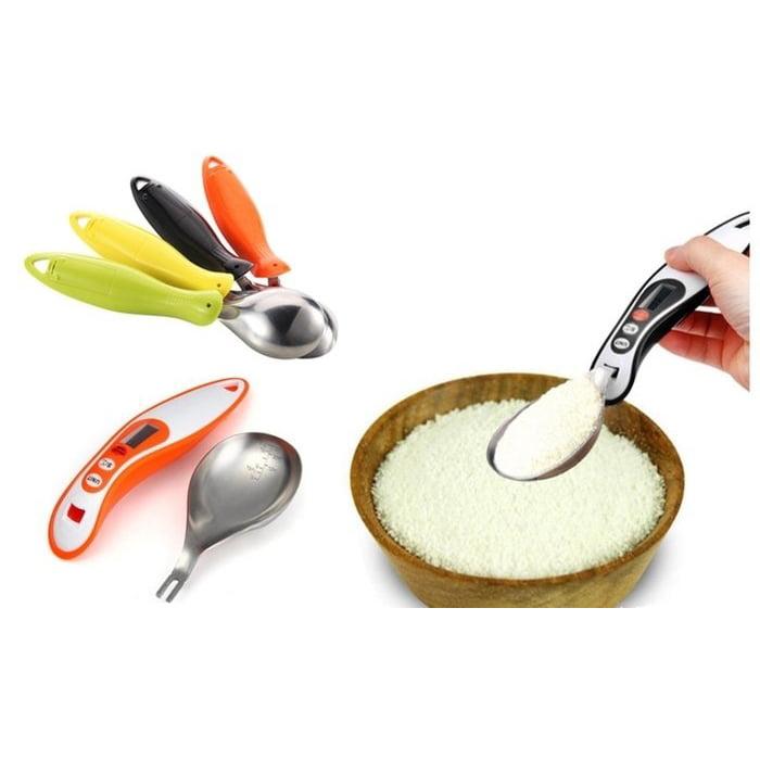 Digital Measuring Spoon With LED Display Detachable Spoon