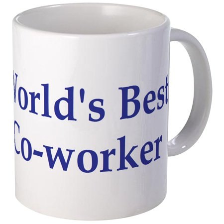 CafePress - World's Best Co-Worker Mug - Unique Coffee Mug, Coffee Cup