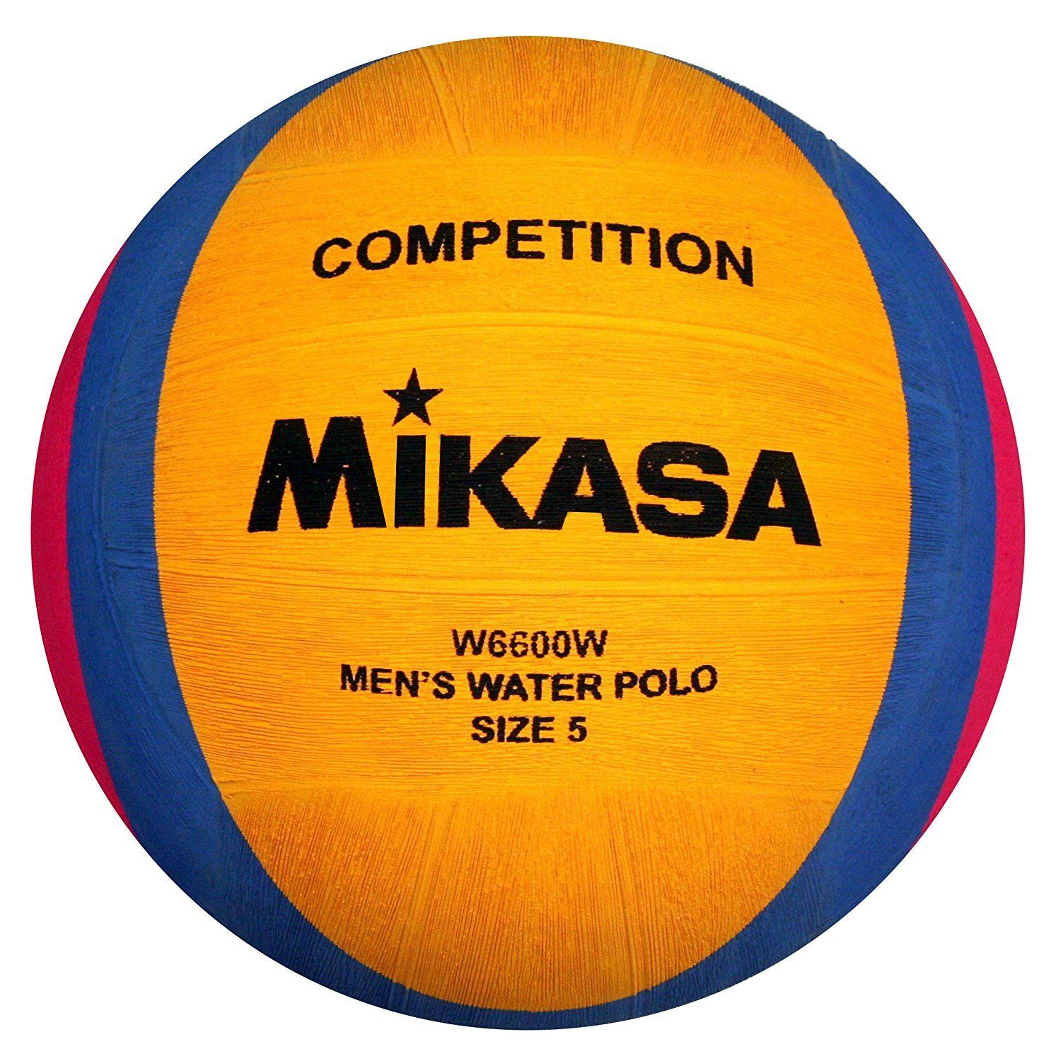 Mikasa W6600W Competition Water Polo Game Ball, Size 5 by