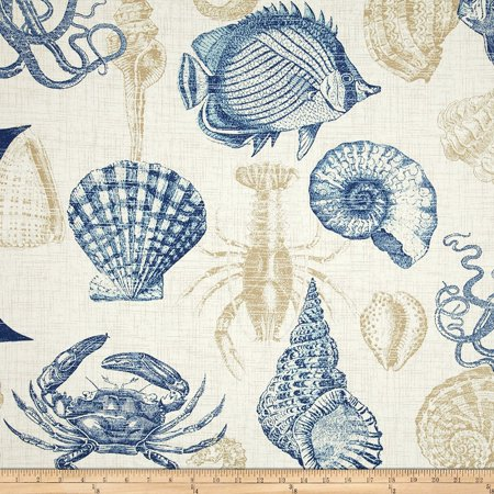 Richloom Solarium Outdoor Sealife Marine Fabric By The Yard Fabrics