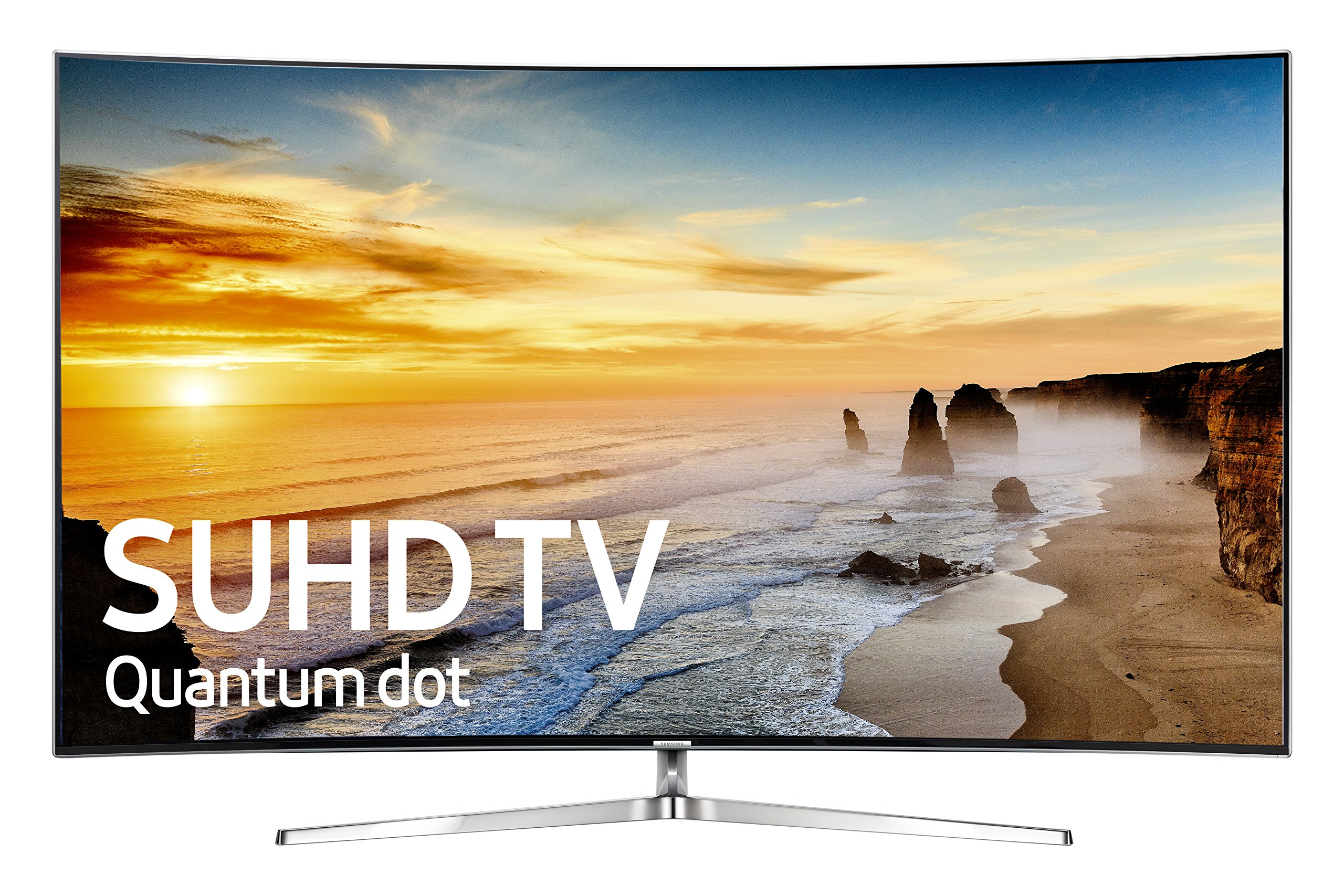 Samsung KS9500 Series 55 in Class SUHD Smart Curved LED TV by Samsung