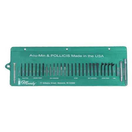 General Hand Tool Kit, Moody Tool, 59-0245
