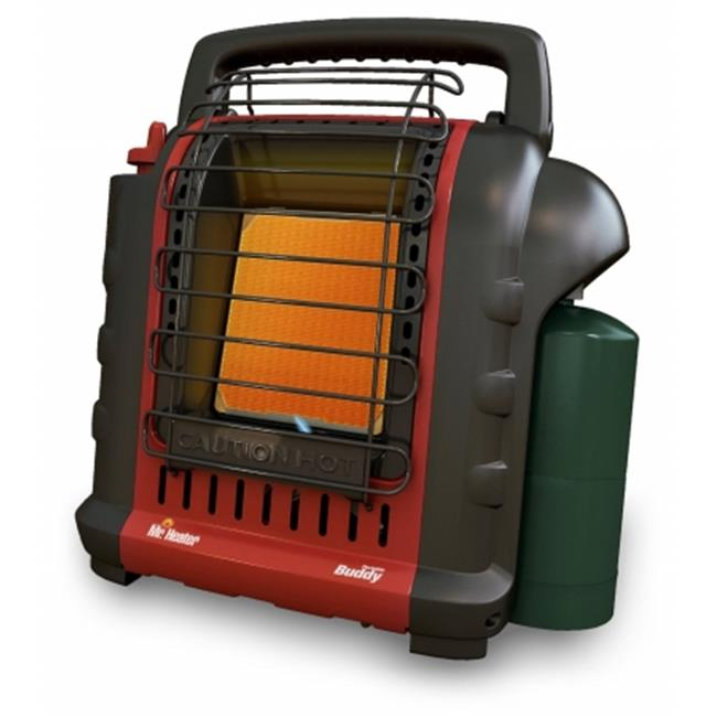 Heat Star 373-MH9BX Buddy 4,000-9,000-BTU Indoor-Safe Portable Radiant Heater