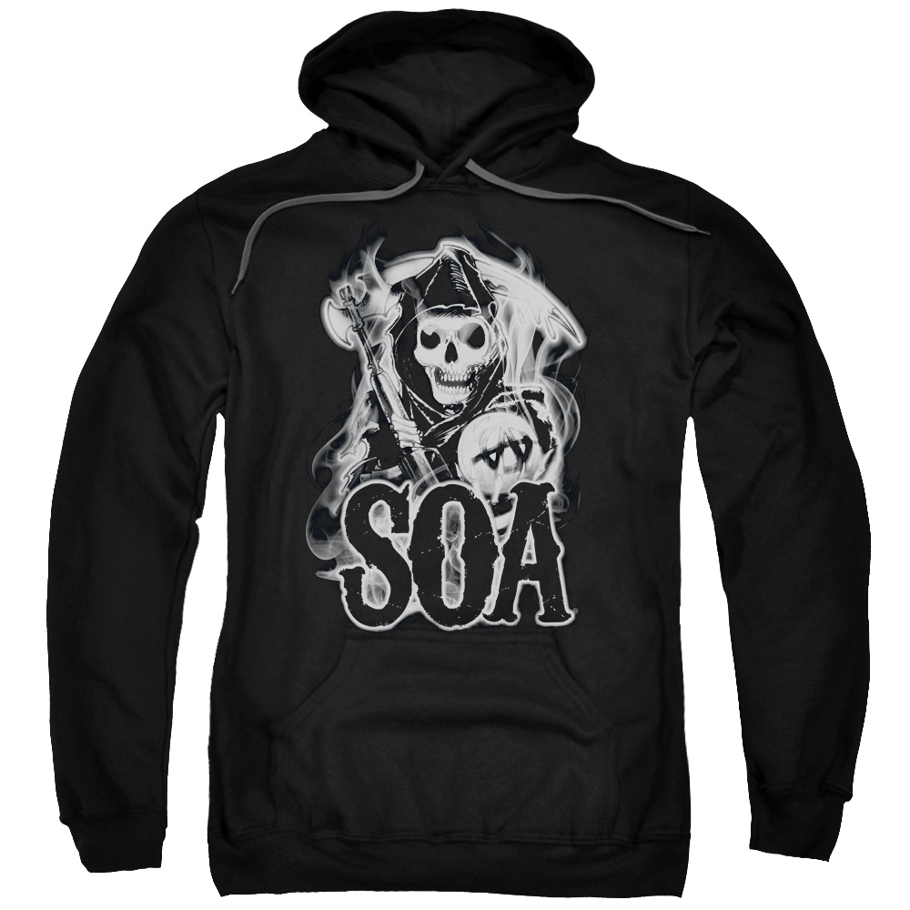 Sons Of Anarchy Smoky Reaper Mens Pullover Hoodie