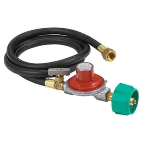 Bayou Classic 0-30 PSI Adjustible Regulator/Hose Assembly