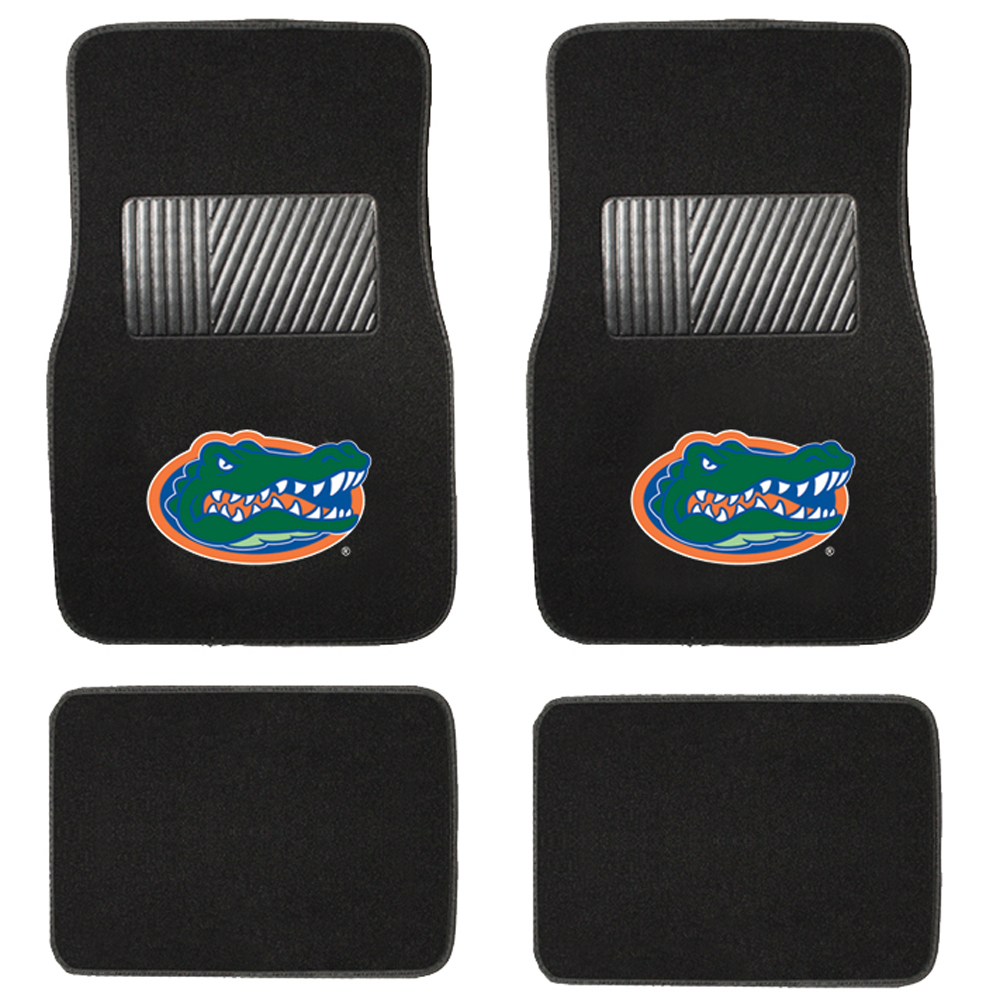 Pilot Automotive FM-915 Collegiate Floor Mat Florida 4 Piece Set