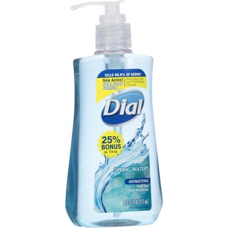 Dial Spring Water Antibacterial Hand Soap 9 375 Oz