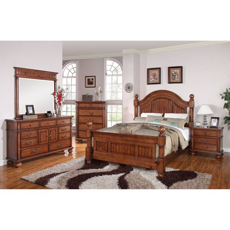 Cambridge raleigh panel 5 piece bedroom set for Affordable furniture cambridge