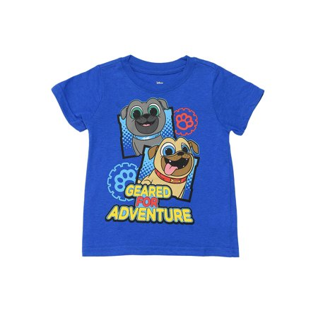 Puppy Dog Pals Boys Toddler Adventure T-Shirt Bingo Rolly
