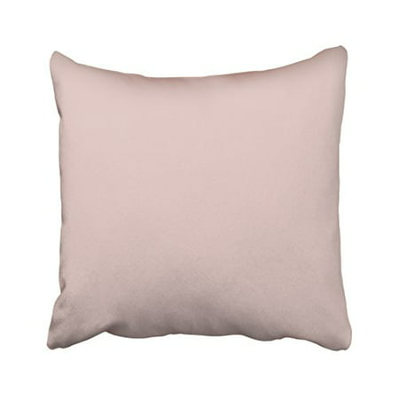 WinHome Decorative Decors Blush Peachy Light Pink Solid Color Adorable Light Pink Decorative Pillows