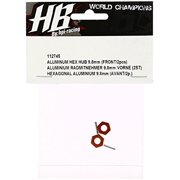 HOT BODIES 112745 Aluminum Hex Hub 9.8mm Front D413 (2) Multi-Colored
