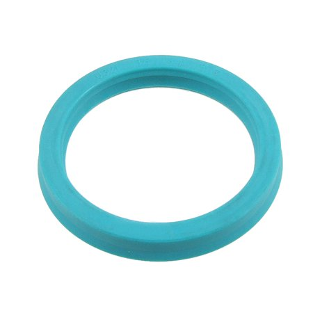 Unique Bargains 36x44x5.7mm U32i PU Single Lip Metric Piston Rod Grease Oil Seal Ring Cyan Blue Piston Rod Seals