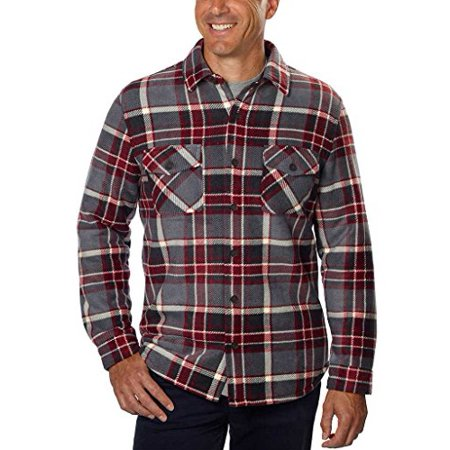 Mens Super Plush Shirt - Red (Online Men Store)