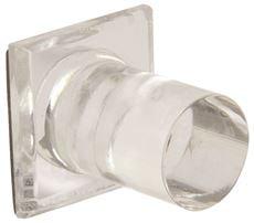 International Pro Source M-6150 Square Mirror Knob 1 In. X 1 In. (Pack Of 9) by INTERNATIONAL PRO SOURCE