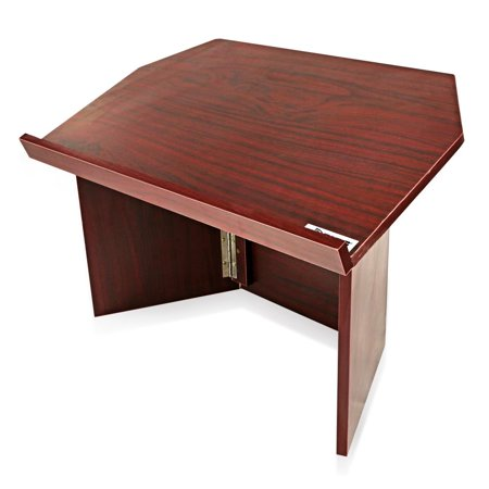 Folding Tabletop Lectern - PYLE PLCTND41 - Portable Lectern Podium | Tabletop Presentation Stand | Quick Setup Folding Style