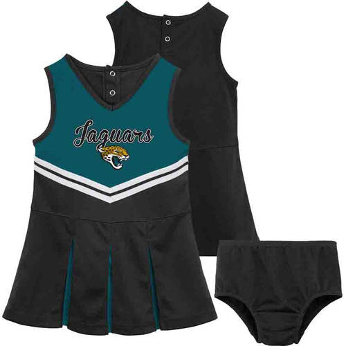 NFL Jacksonville Jaguars Toddler Cheerleader Set