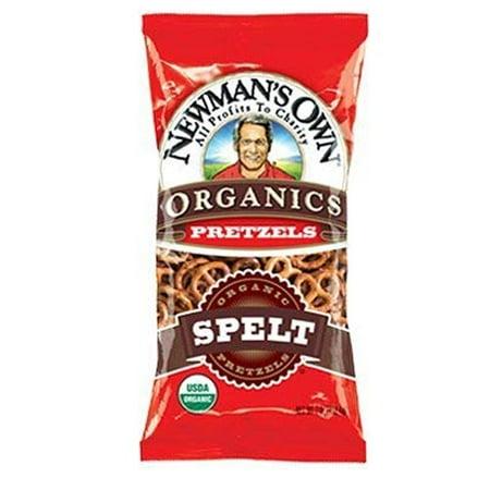 Newman's Own Organics Spelt Pretzel - 7 oz (Pack of 3)