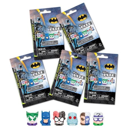Tech4Kids Tech 4 Kids Batman & Villains Micro Lite (5 Pack) Action Figure - Batman's Villains