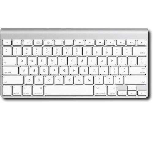 Apple Wireless Keyboard  - Silver (Certified Refurbished)