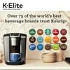 Keurig K-Elite Single-Serve K-Cup Pod Coffee Maker, Brushed Slate