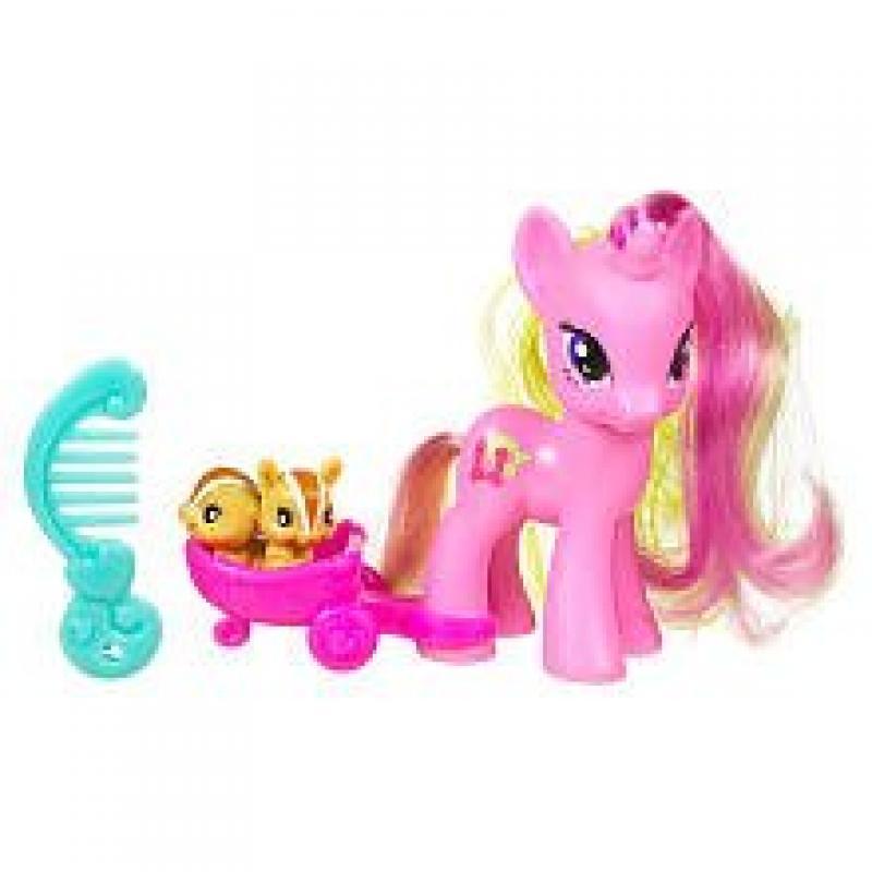 Hasbro My Little Pony Basic Figure Lulu Luck with Animal ...