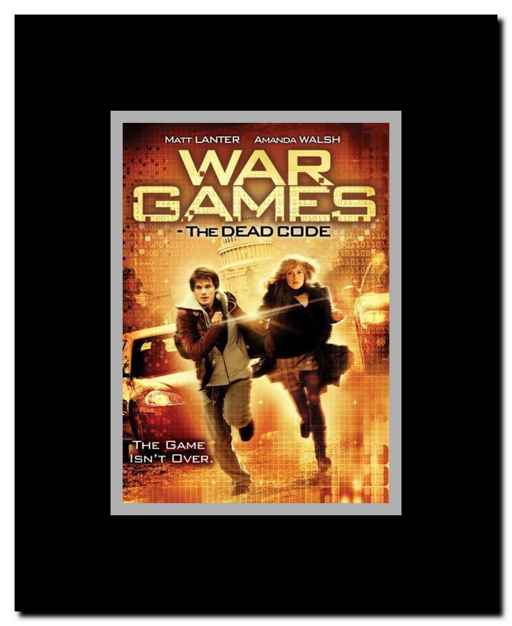 Wargames The Dead Code Framed Movie Poster Walmartcom