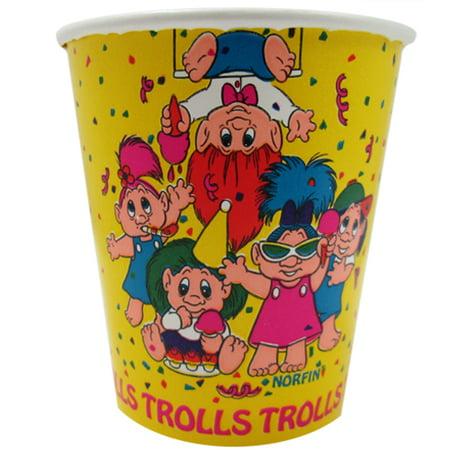 Troll Dolls Vintage 7oz Paper Cups (8ct)