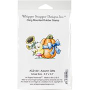 "Whipper Snapper Cling Stamp 4""x6""-autumn Gifts"