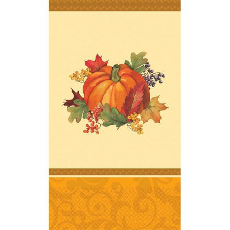 Bountiful Holiday 16 Ct Guest Napkins Paper Fall Thanksgiving](Thanksgiving Napkins Paper)