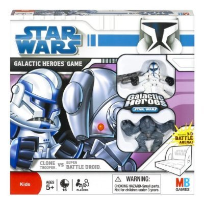 Star Wars: The Clone Wars Galactic Heroes Game Clone Trooper vs. Super Batt... By Hasbro... by