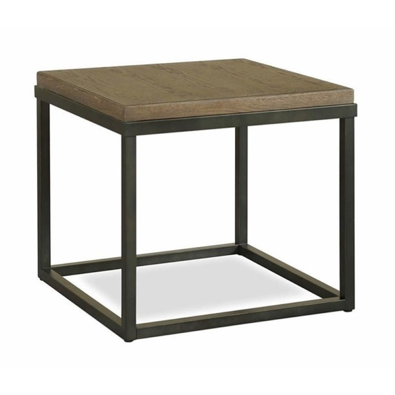 Click here to buy Beaumont Lane Lamp Table in Brownstone by Beaumont Lane.