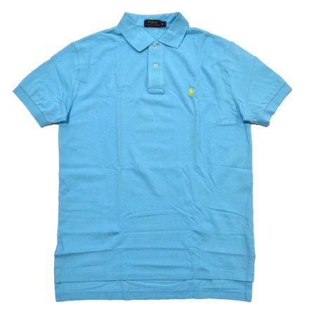 Polo Ralph Lauren NEW Sky Blue Mens Size Small S Pique Polo Shirt