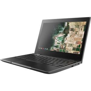 Lenovo 100e Chromebook (2nd Gen) 81MA - Celeron N4000 / 1.1 GHz - Chrome OS - 4 GB RAM - 32 GB eMMC eMMC 5.1 - 11.6u0022 1366 x 768 (HD) - UHD Graphics 600 - Wi-Fi, Bluetooth - black - kbd: US
