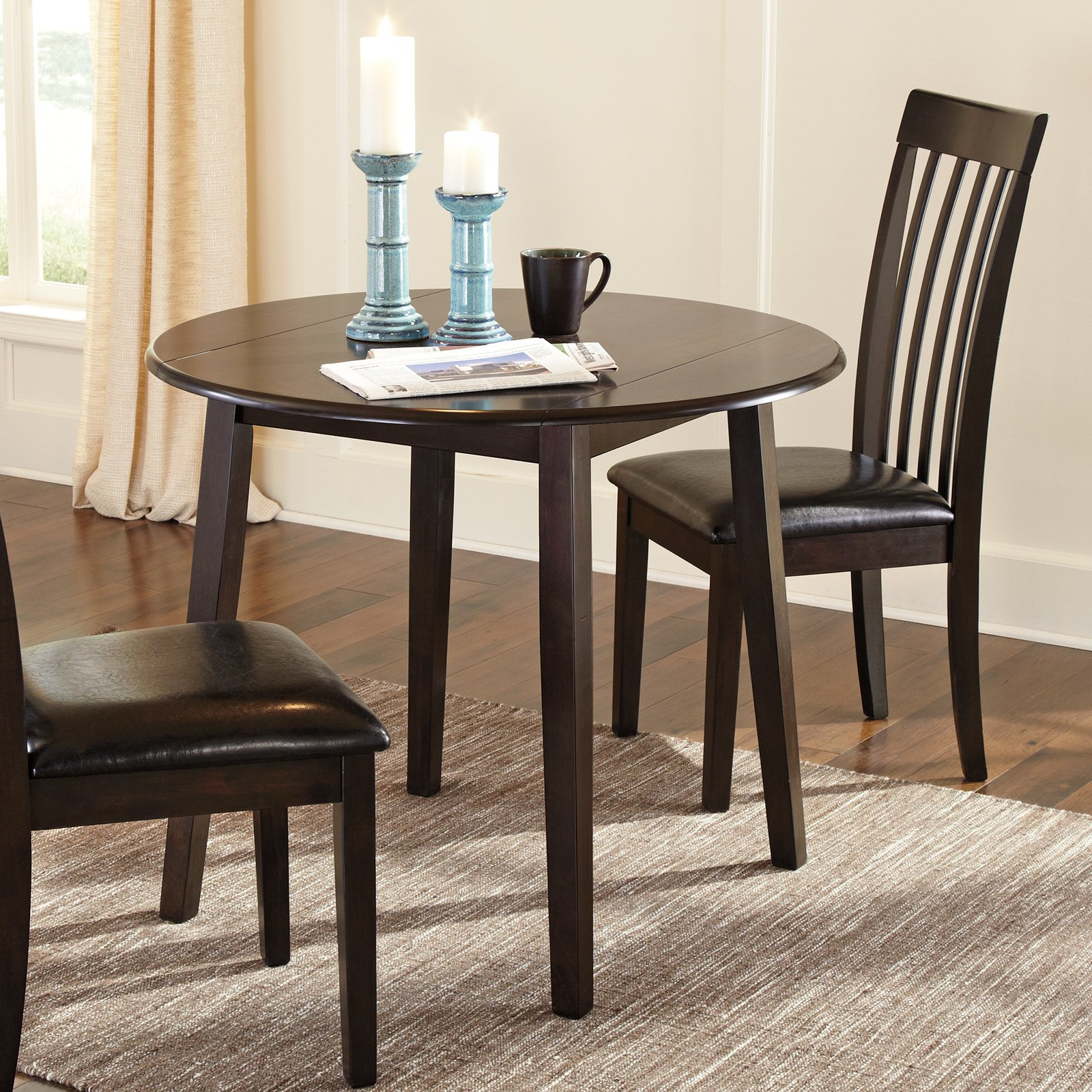 Signature Design By Ashley Hammis Round Dining Table Walmartcom