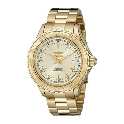 Invicta men's 2306 pro-diver collection 23k gold-plated d...
