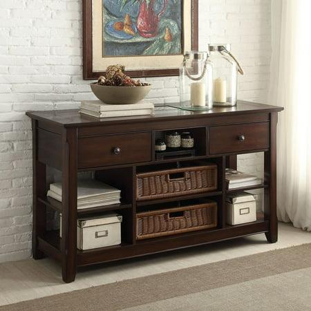 1perfectchoice hagen hallway entrway console sofa table for Sofa table cabinet
