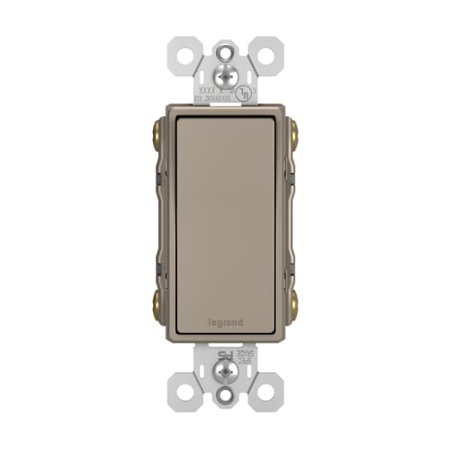 Pass and Seymour 15A 4-Way Decorator Switch, Nickel
