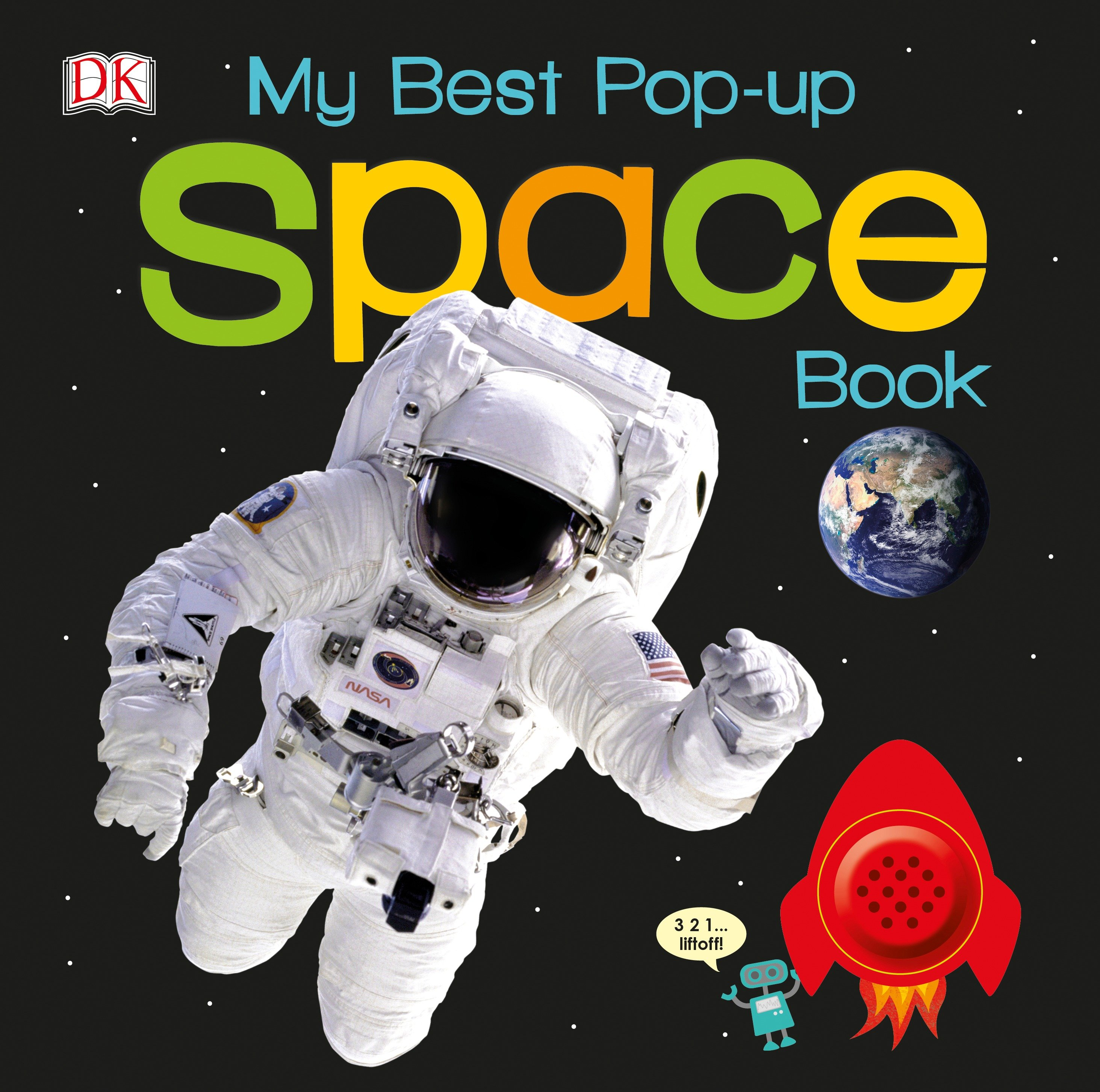My Best Pop-Up Space Book (Board Book)