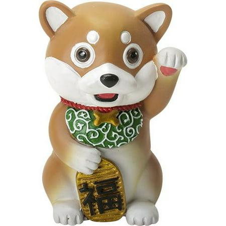 - Ebros Maneki Shiba Inu Cute Japan Dog Small 4