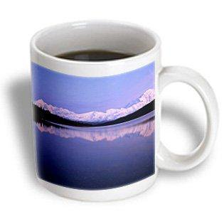 3dRose Alaska, Wonder Lake, Mount McKinley, Denali NP - US02 GRE0017 - Gerry Reynolds, Ceramic Mug, 11-ounce