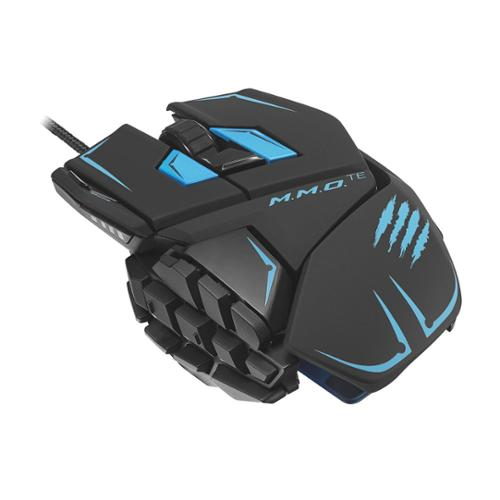 Mad Catz M.M.O. TE Gaming Mouse for PC & Mac - Blac