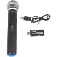 Pyle PUSBMIC50 Wireless Microphone & USB Receiver